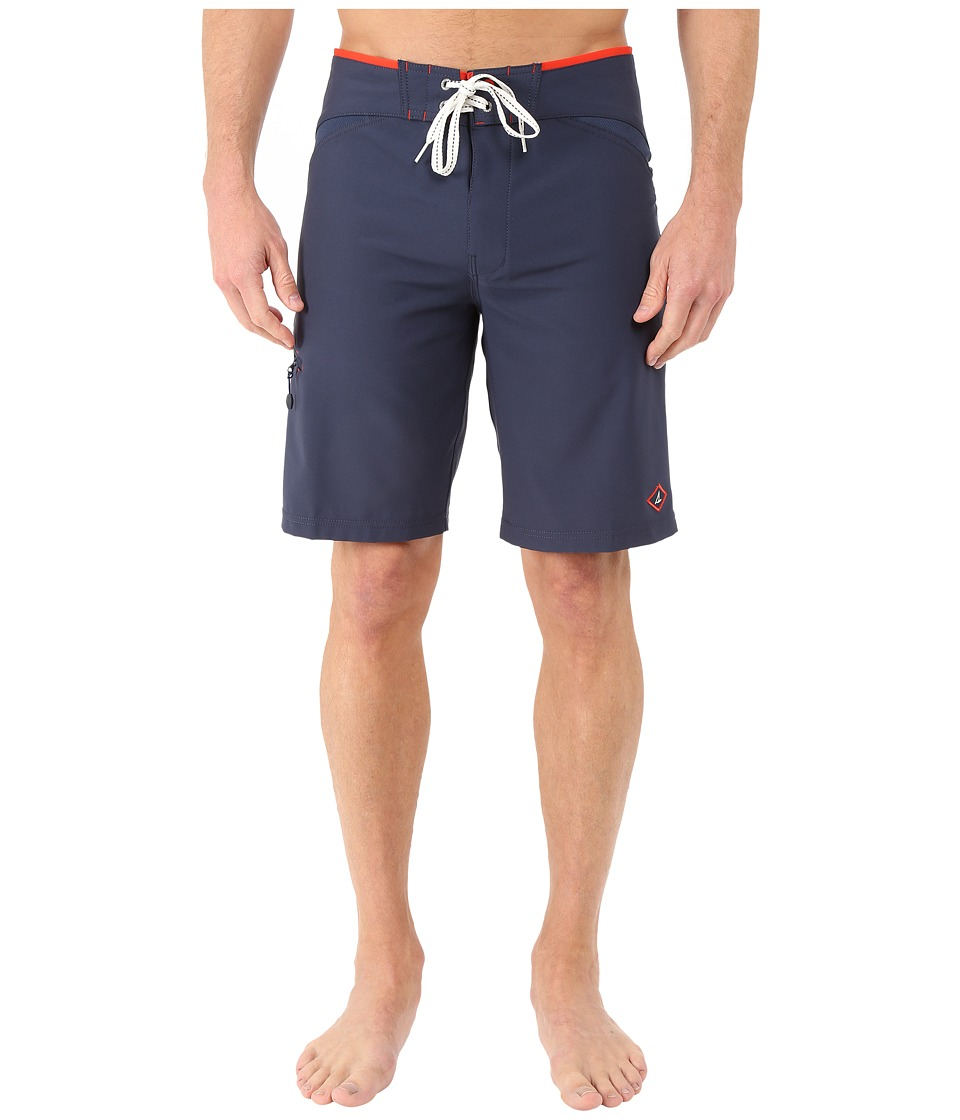 Sperry - Do Me a Solid Boardshorts (Ink Blue) Men's Swimwear