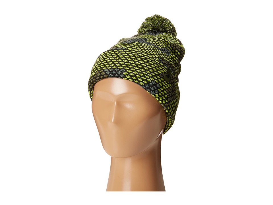The North Face Kids - Ski Tuke (Big Kids) (Chive Green Mesh Camo) Beanies