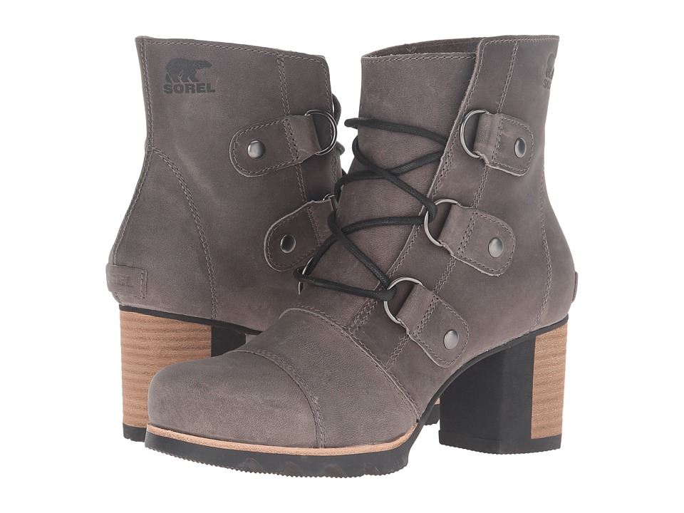 SOREL - Addington Lace (Dark Fog) Women's Waterproof Boots