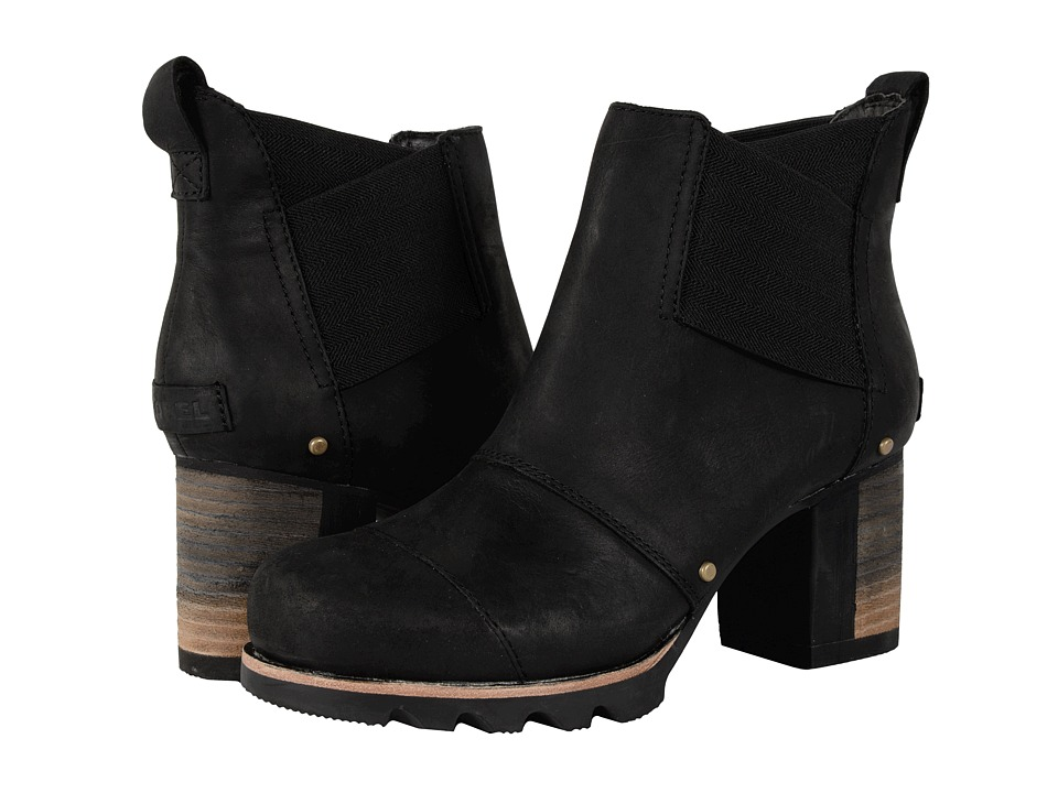 SOREL - Addington Chelsea (Black) Women's Dress Pull-on Boots