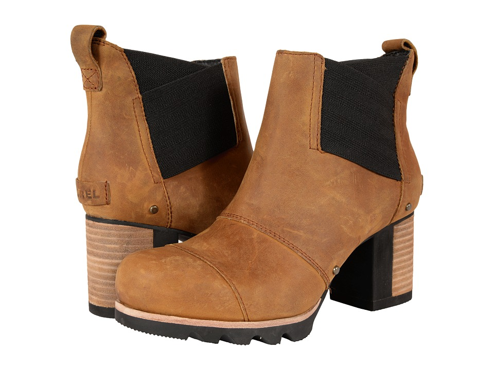 SOREL Addington Chelsea Autumn Bronze Womens Dress Pullon Boots
