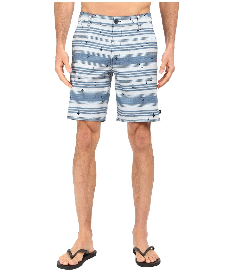 Sperry Top-Sider - Anger Management Watershorts (Ink Blue) Men's Swimwear