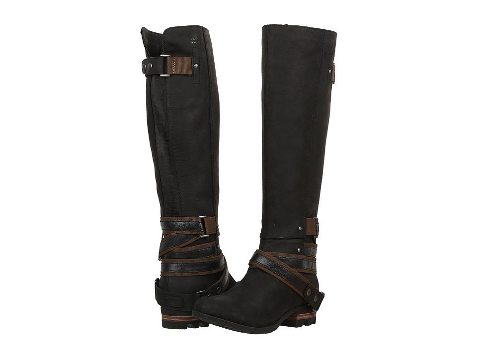 SOREL - Lolla Tall (Black) Women's Waterproof Boots