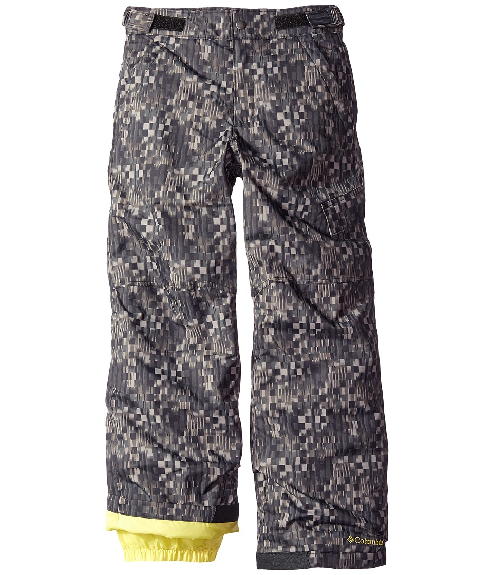 Columbia Kids - Ice Slope II Pants (Toddler) (Black Geo Block Print) Kid's Casual Pants