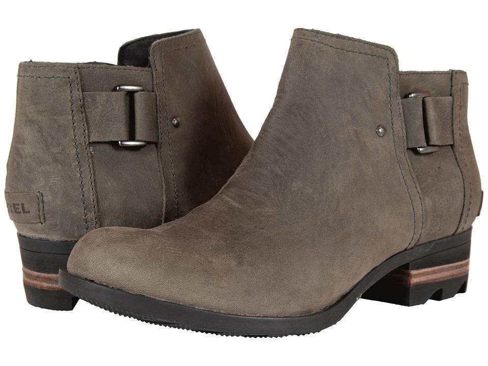 SOREL - Lolla Ankle (Dark Grey) Women's Waterproof Boots