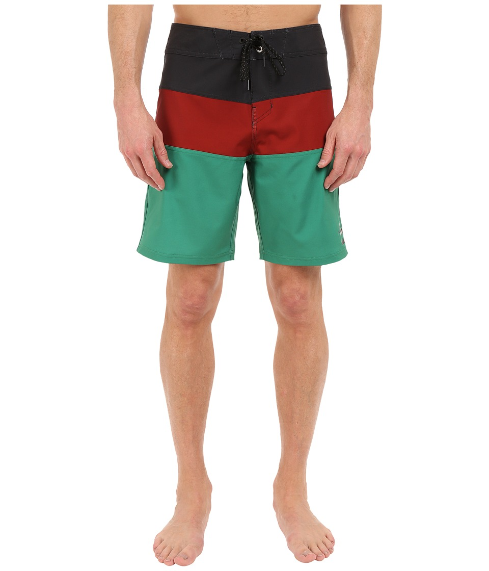 Billabong - Tribong X Boardshorts (Rasta) Men's Swimwear