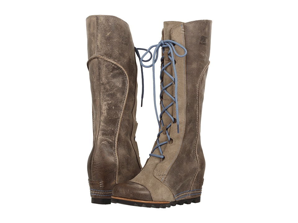 SOREL - Cate the Great Wedge (Pebble) Women's Dress Boots