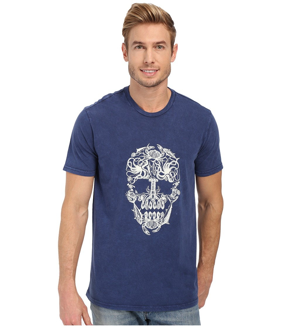 Sperry Top-Sider - Creepy Crawlers T-Shirt (Ink Blue) Men's T Shirt