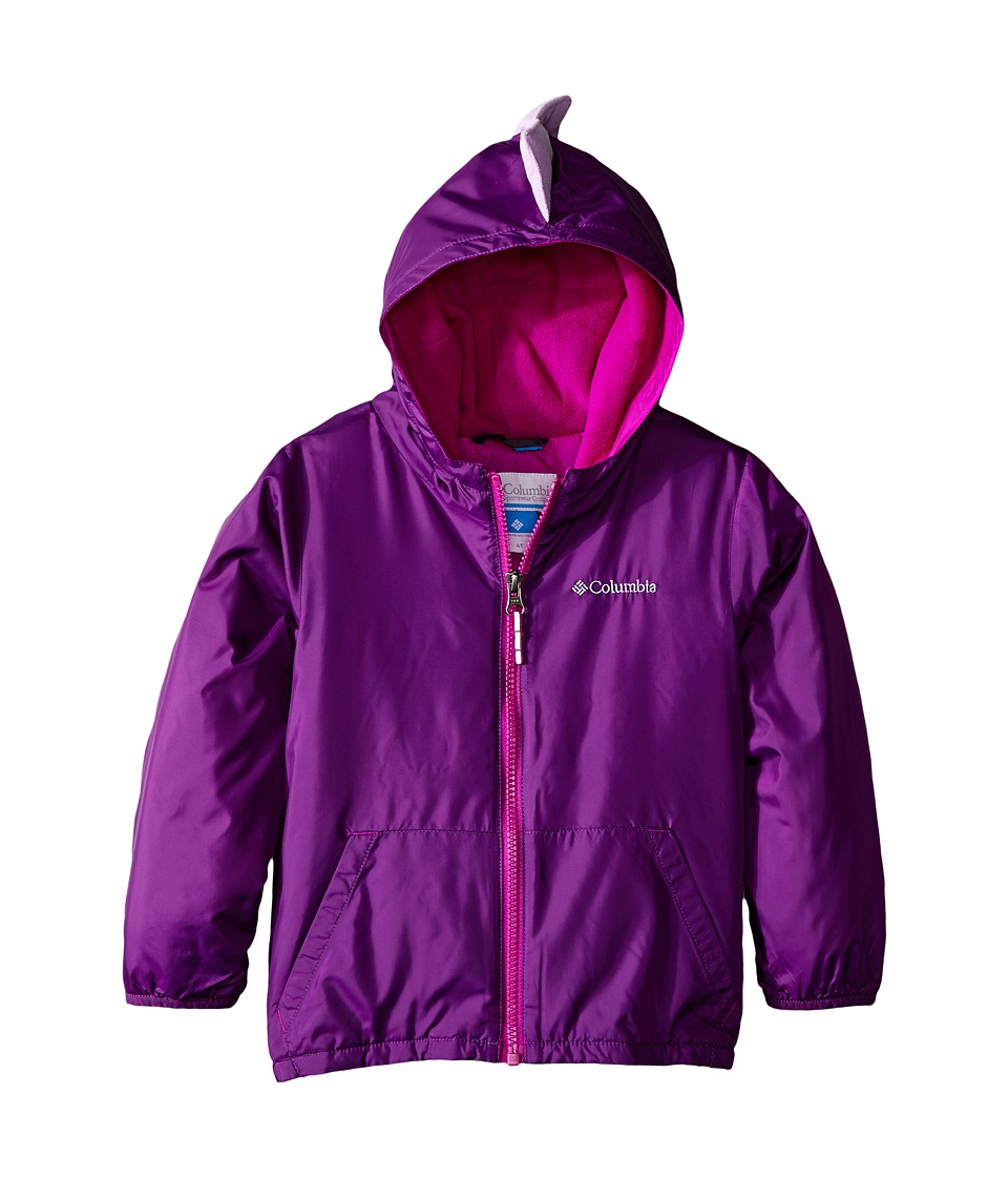Columbia Kids - Kitterwibbit Jacket (Toddler) (Iris Glow/Bright Plum) Kid's Coat