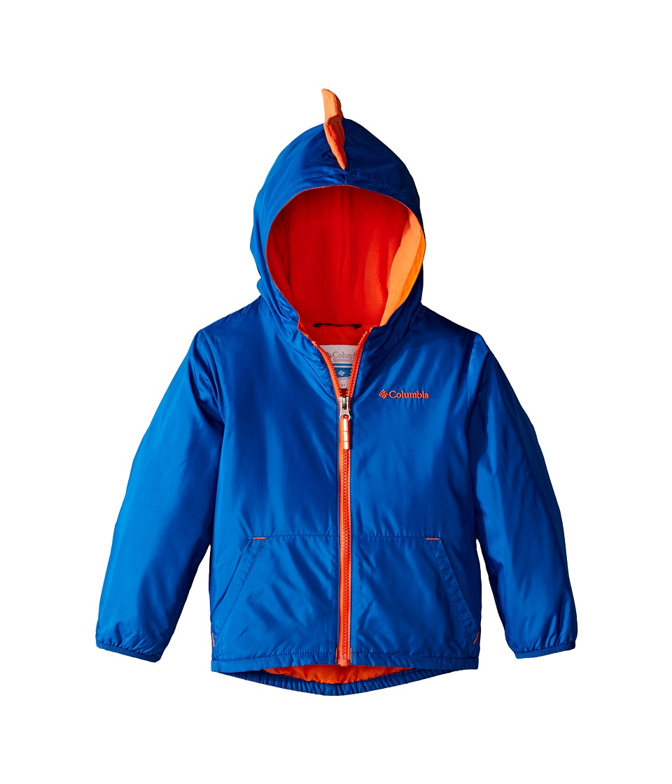 Columbia Kids - Kitterwibbit Jacket (Toddler) (Marine Blue/Tangy Orange) Kid's Coat