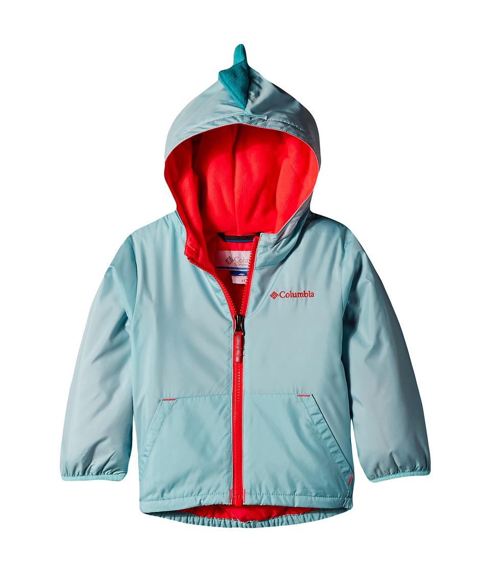 Columbia Kids - Kitterwibbit Jacket (Toddler) (Spray/Miami) Kid's Coat
