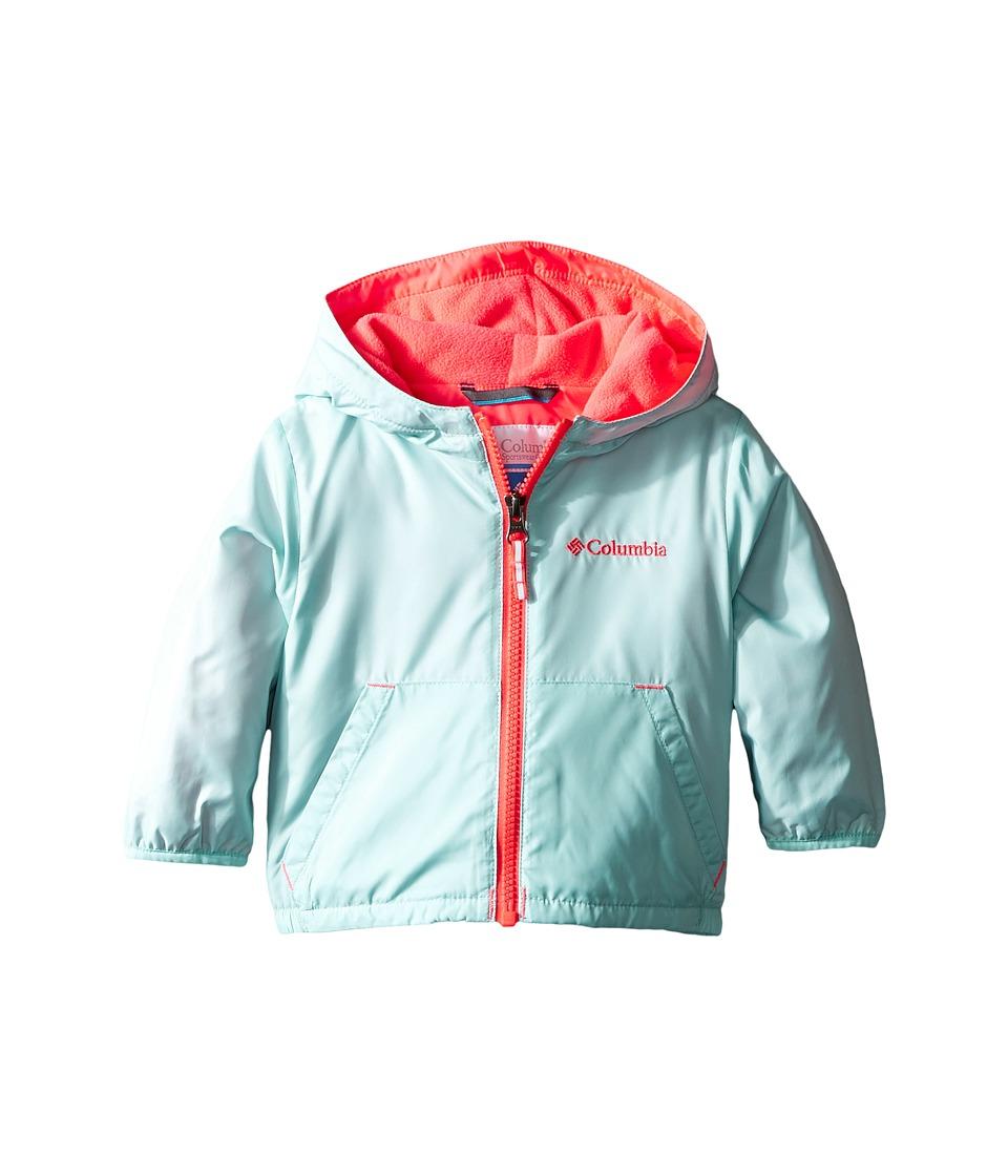Columbia Kids - Kitterwibbit Jacket (Infant/Toddler) (Spray/Miami) Kid's Coat