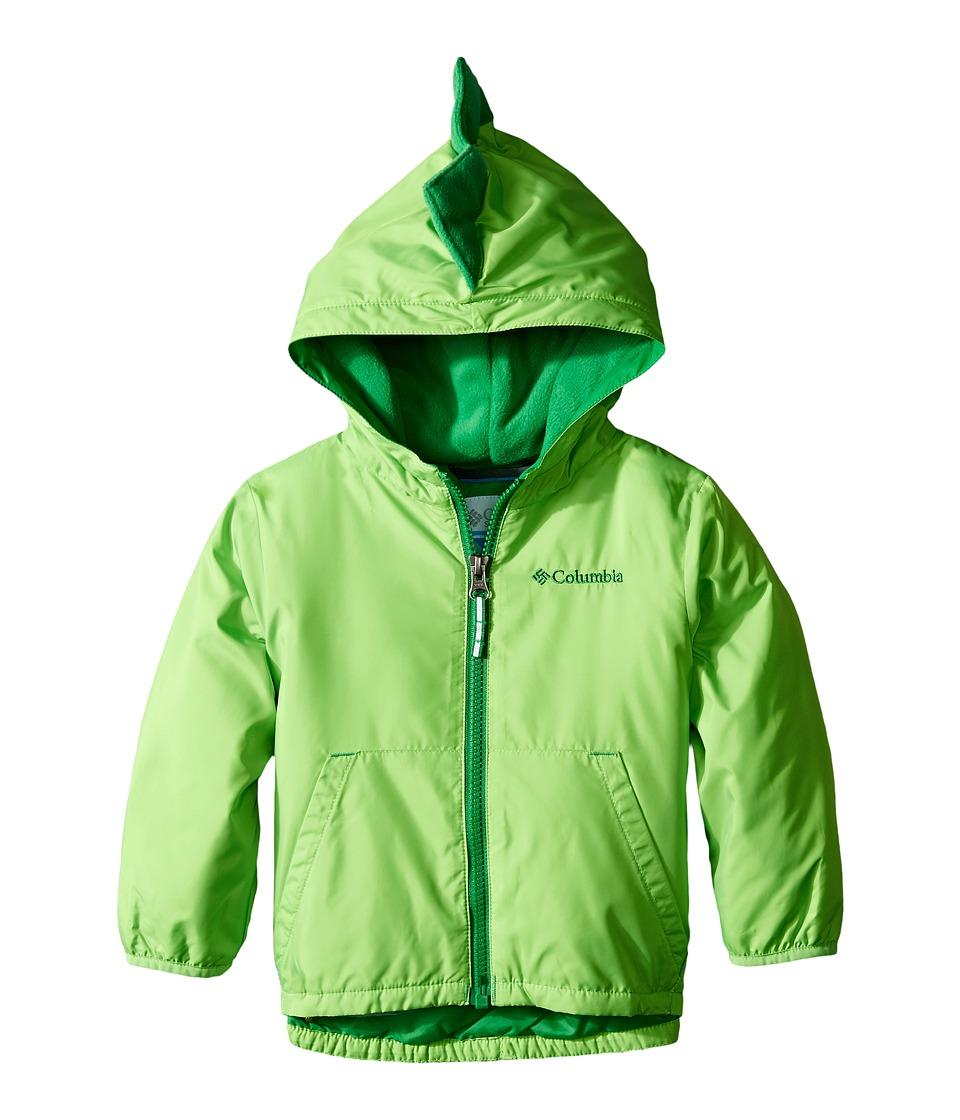 Columbia Kids - Kitterwibbit Jacket (Infant/Toddler) (Green Mamba/Fuse Green) Kid's Coat