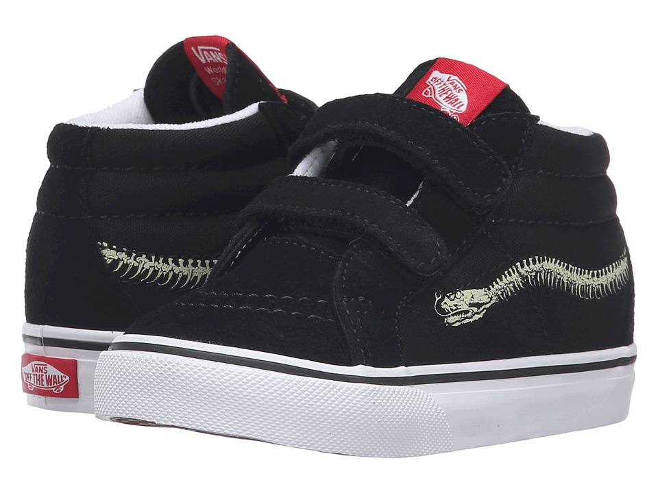 Vans Kids - Sk8-Mid Reissue V (Toddler) ((Reptile Sidestripe) Snake/Black) Boys Shoes