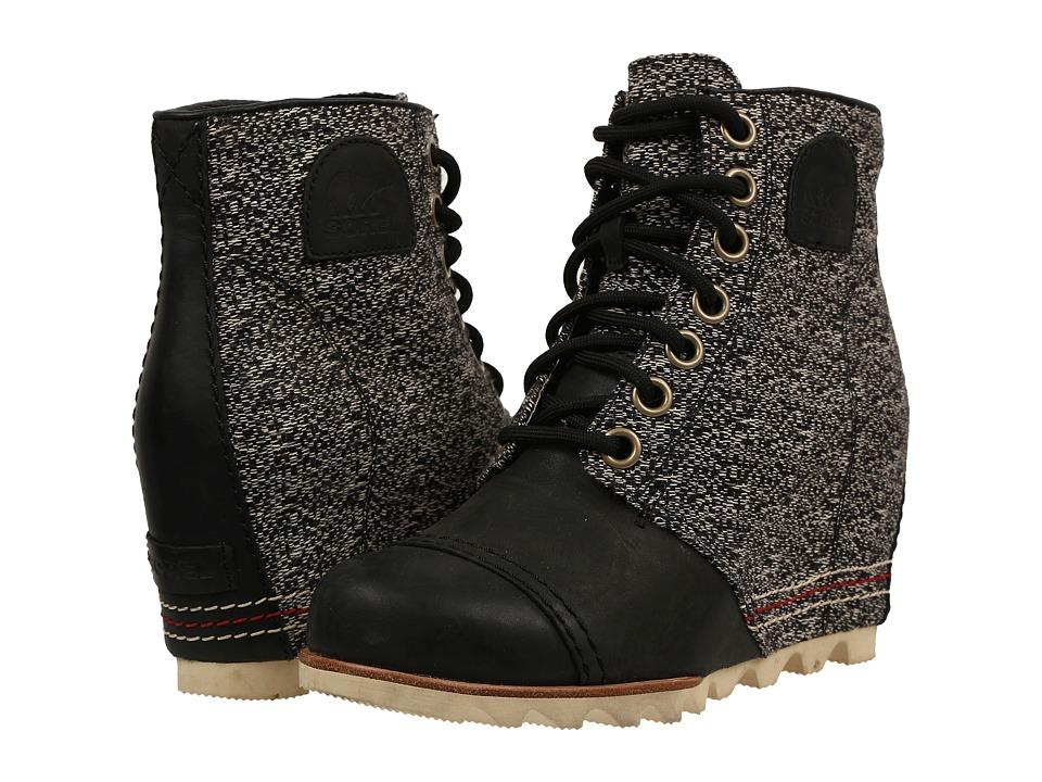 SOREL - 1964 Premium Wedge (Black 2) Women's Cold Weather Boots