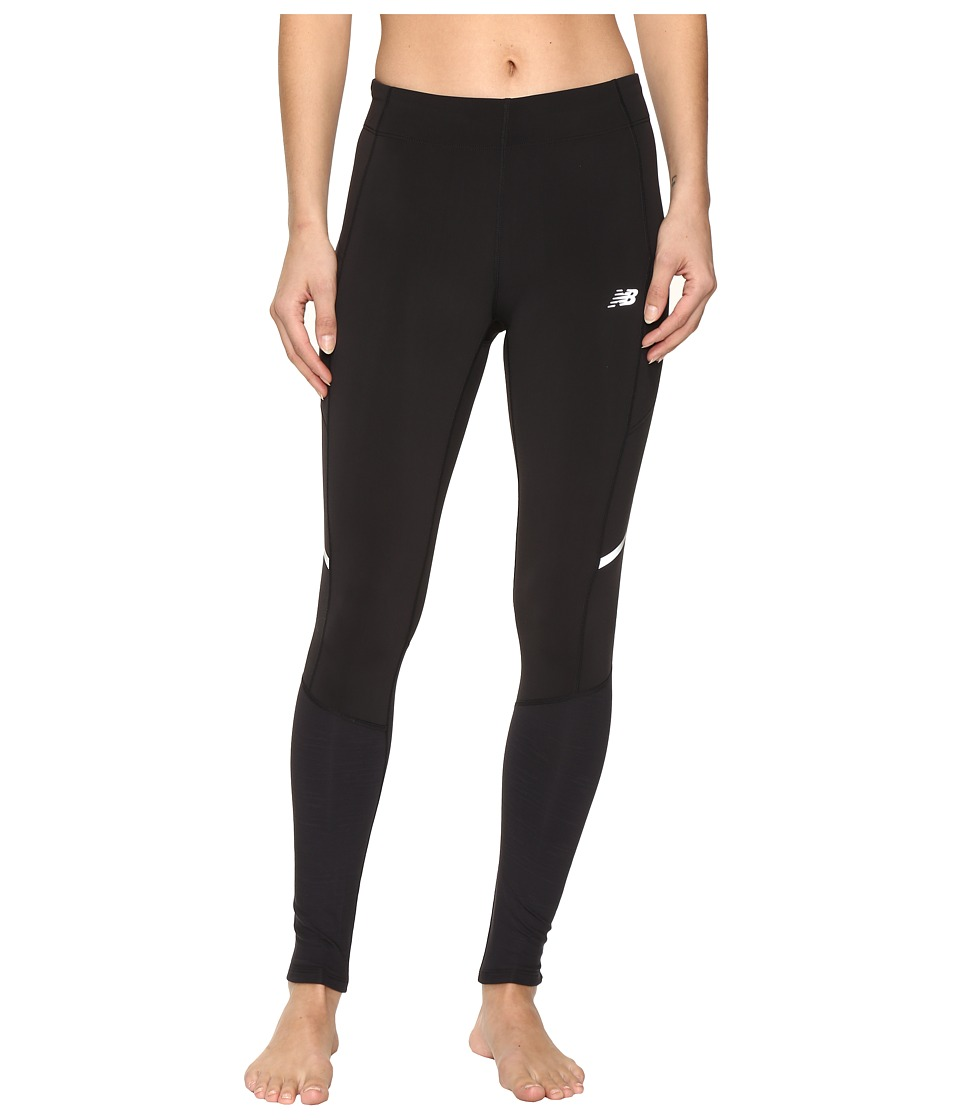 New Balance - NB Heat Tights (Black) Women's Casual Pants