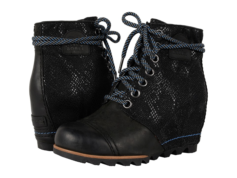 SOREL - 1964 Premium Wedge (Black 3) Women's Cold Weather Boots