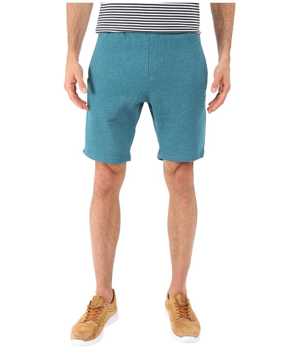 Billabong - Balance Sweatshorts (Ocean Heather) Men's Shorts