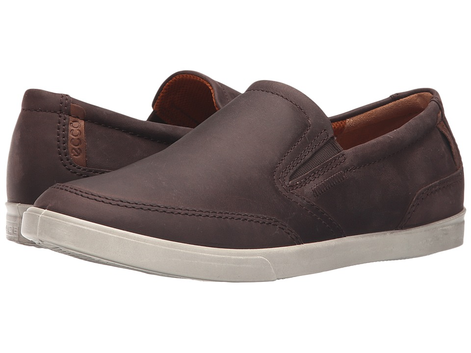 ECCO - Collin Classic Slip-On (Mocha) Men's Slip on Shoes