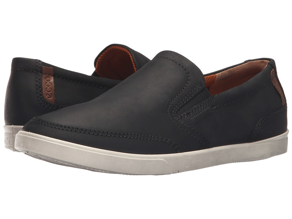 ECCO - Collin Classic Slip-On (Black) Men's Slip on Shoes