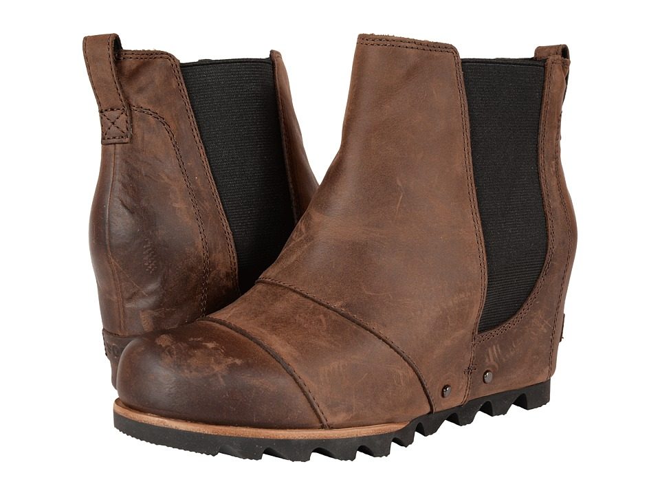 SOREL - Lea Wedge (Umber) Women's Waterproof Boots