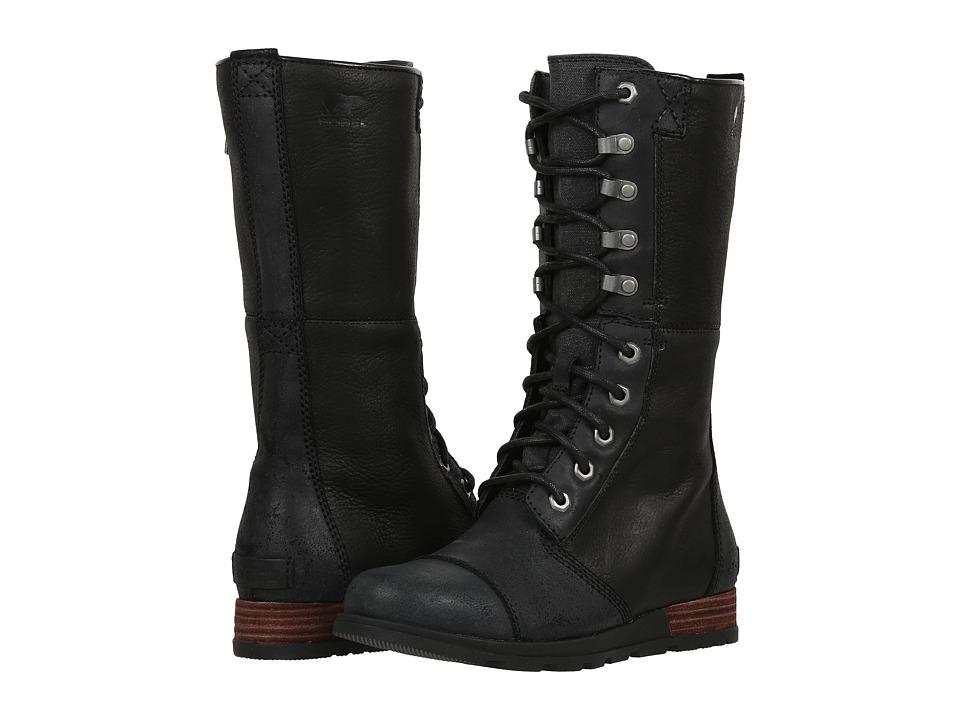 SOREL - Major Maverick (Black) Women's Lace-up Boots