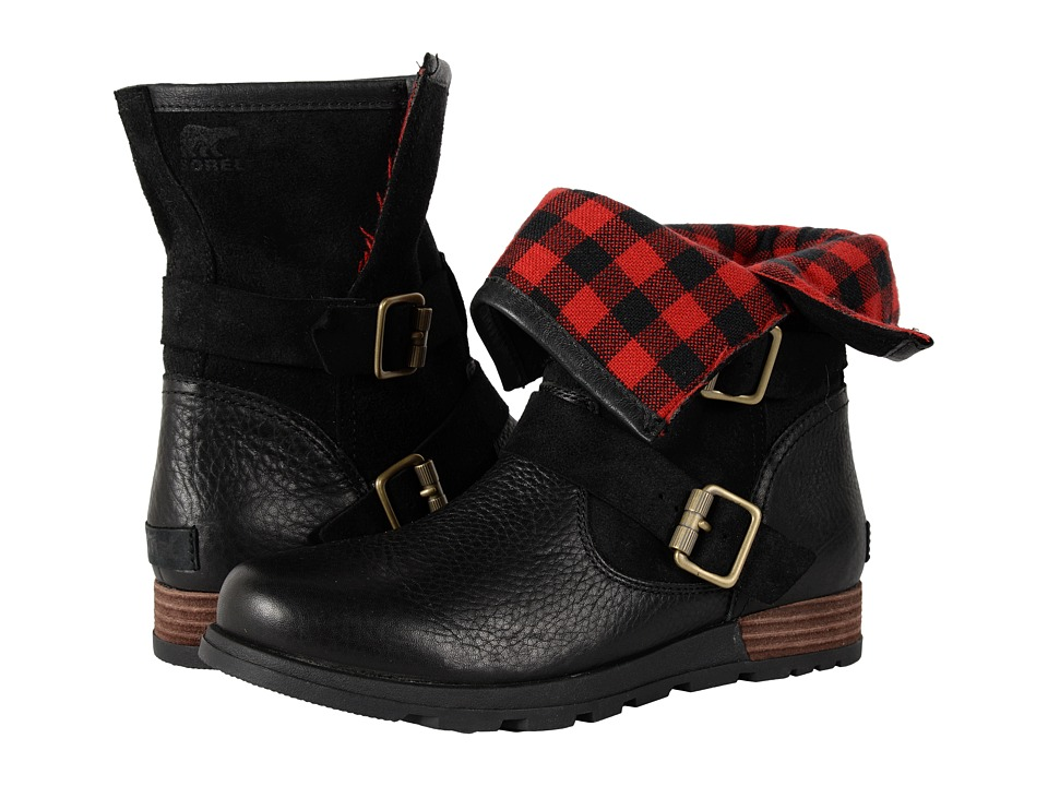 SOREL Major Moto (Black) Women