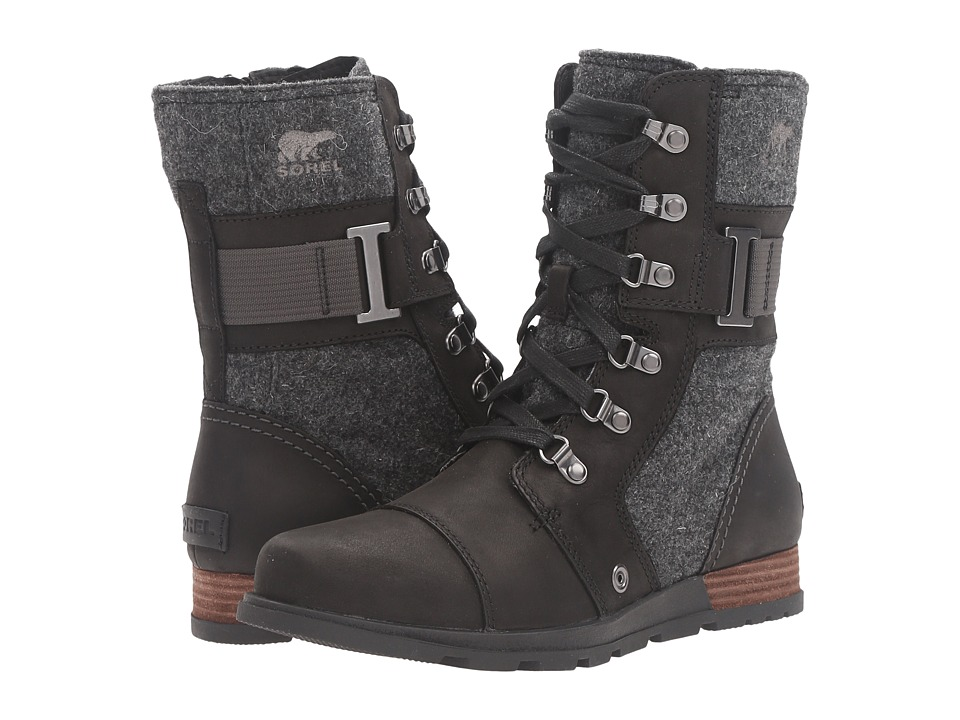 SOREL - Major Carly (Black) Women's Cold Weather Boots