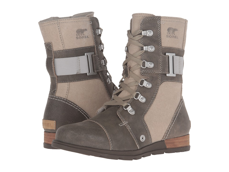 SOREL - Major Carly (Fossil) Women's Cold Weather Boots