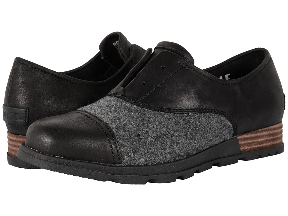 SOREL - Major Oxford (Black) Women's Shoes