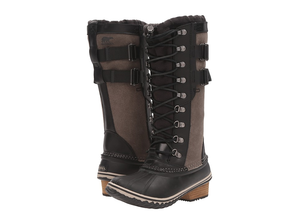 SOREL - Conquest Carly II (Black) Women's Waterproof Boots