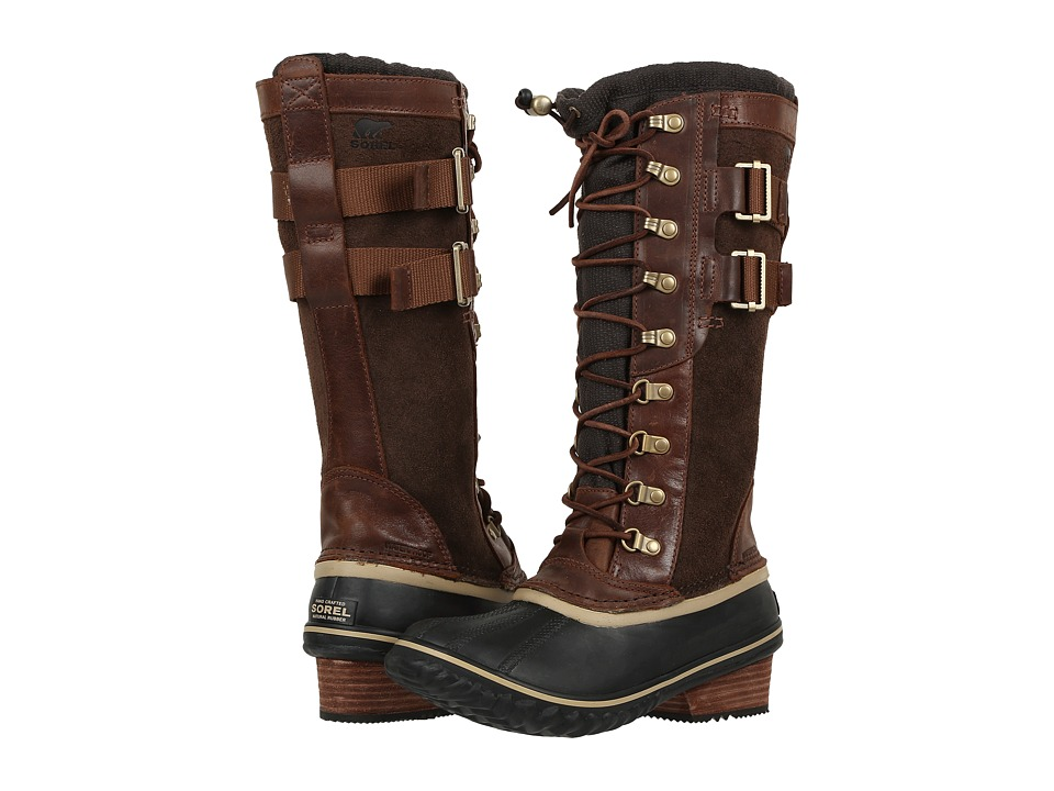 SOREL - Conquest Carly II (Umber) Women's Waterproof Boots