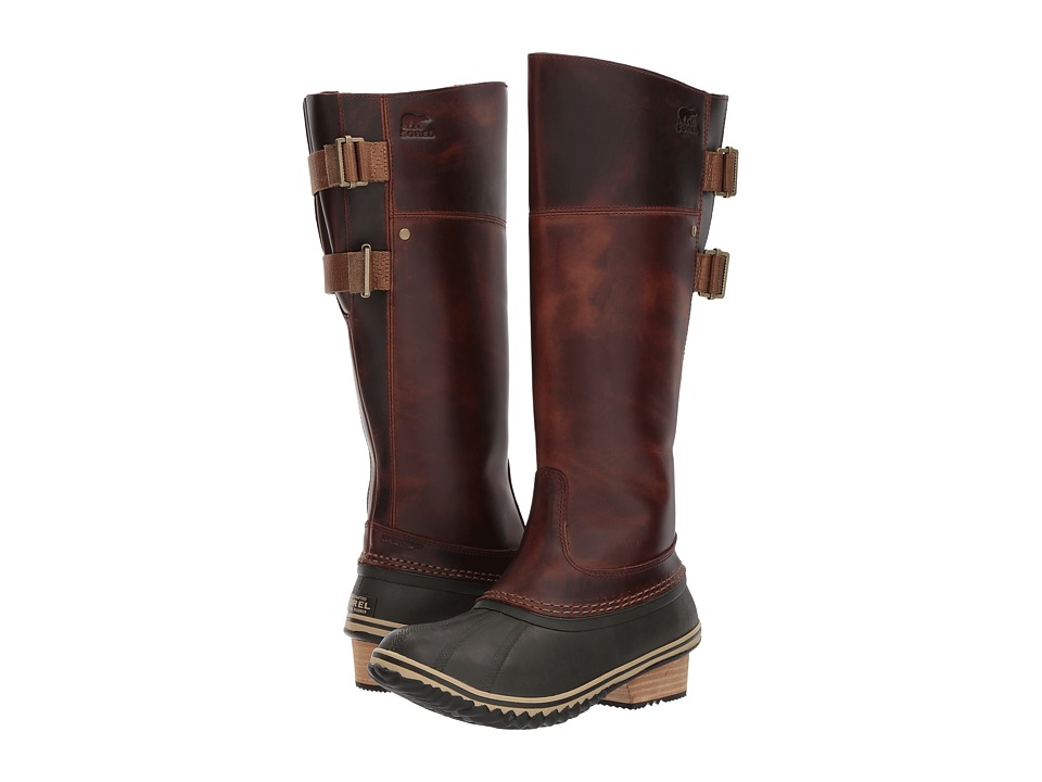 SOREL Slimpack Riding Tall II (Umber) Women