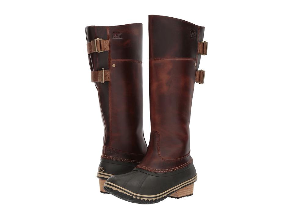SOREL - Slimpack Riding Tall II (Umber) Women's Waterproof Boots
