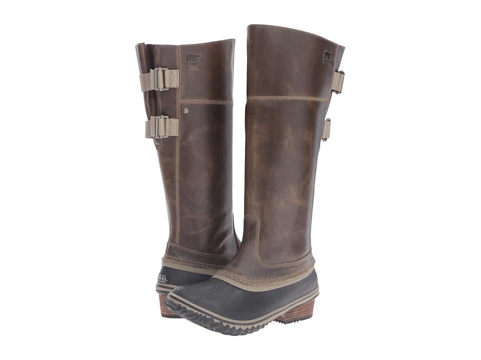 SOREL - Slimpack Riding Tall II (Dark Fog) Women's Waterproof Boots