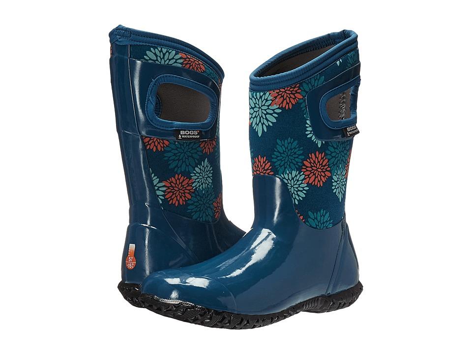 Bogs Kids - North Hampton Pompons (Toddler/Little Kid/Big Kid) (Legion Blue Multi) Girls Shoes