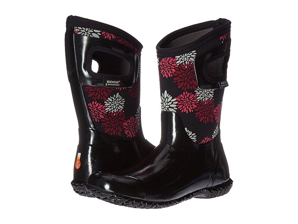 Bogs Kids - North Hampton Pompons (Toddler/Little Kid/Big Kid) (Black Multi) Girls Shoes