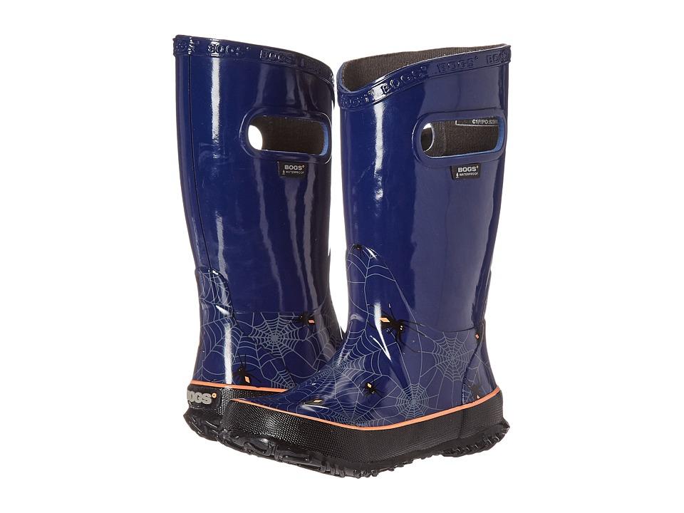 Bogs Kids - Rain Boot Creepy Crawler (Toddler/Little Kid/Big Kid) (Blue Multi) Boys Shoes