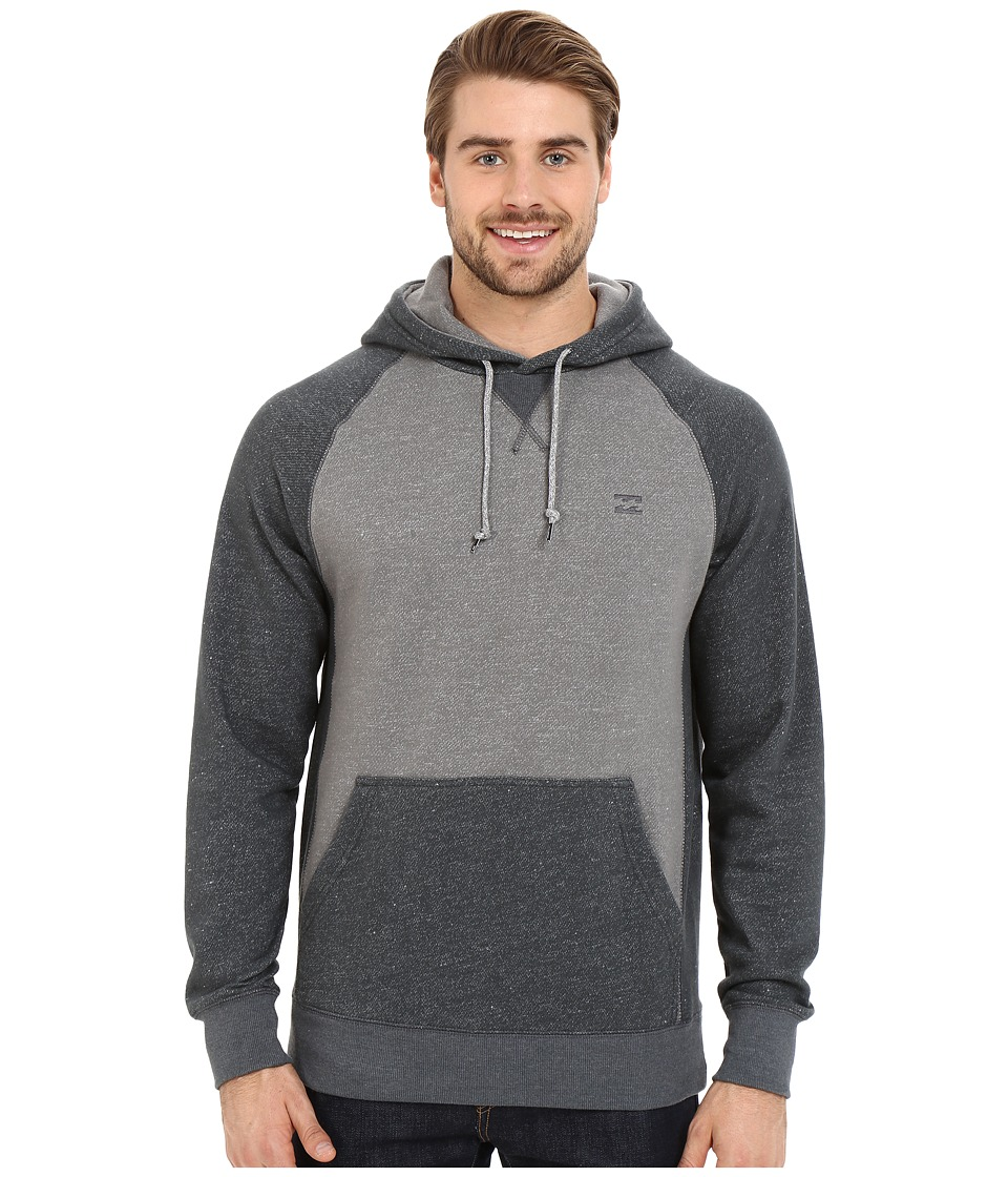 Billabong - Balance Pullover Hoodie (Grey Heather) Men's Sweatshirt