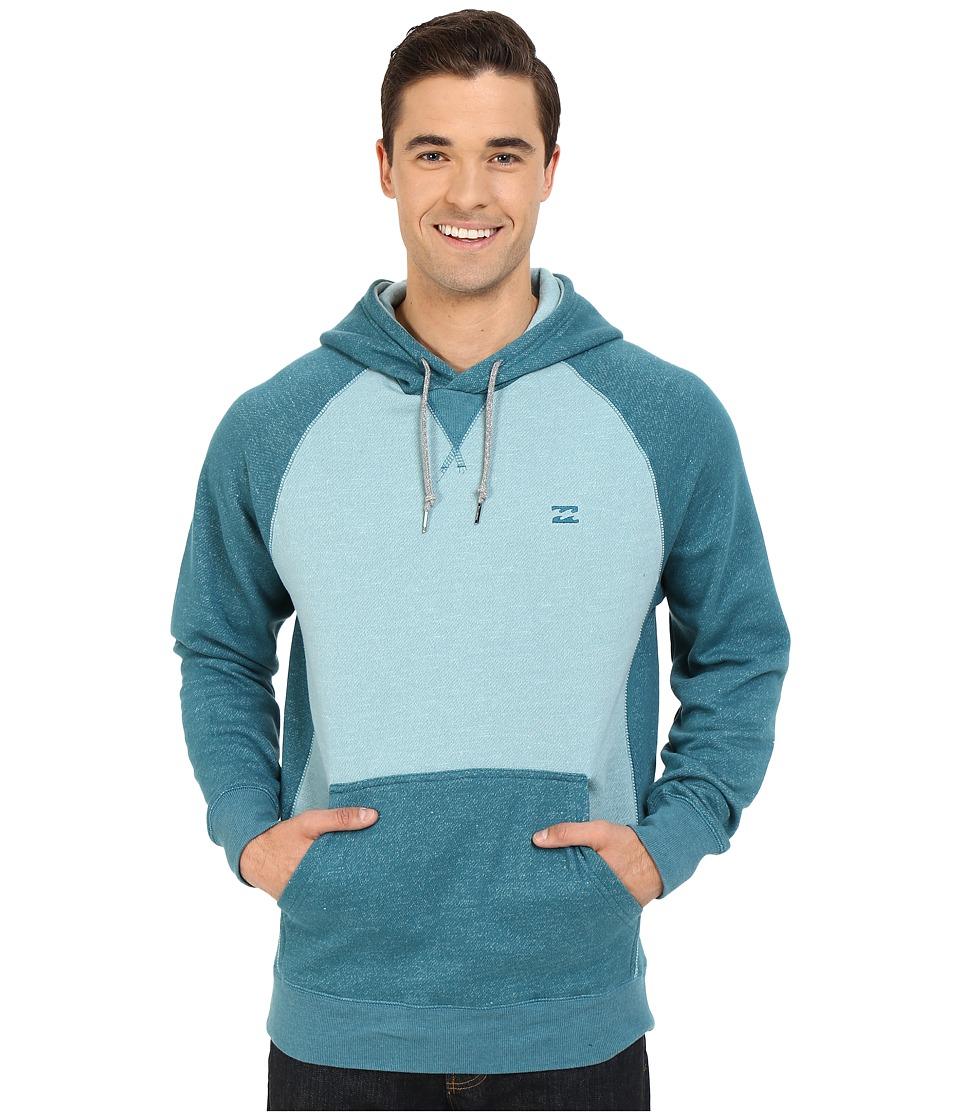 Billabong - Balance Pullover Hoodie (Haze Heather) Men's Sweatshirt