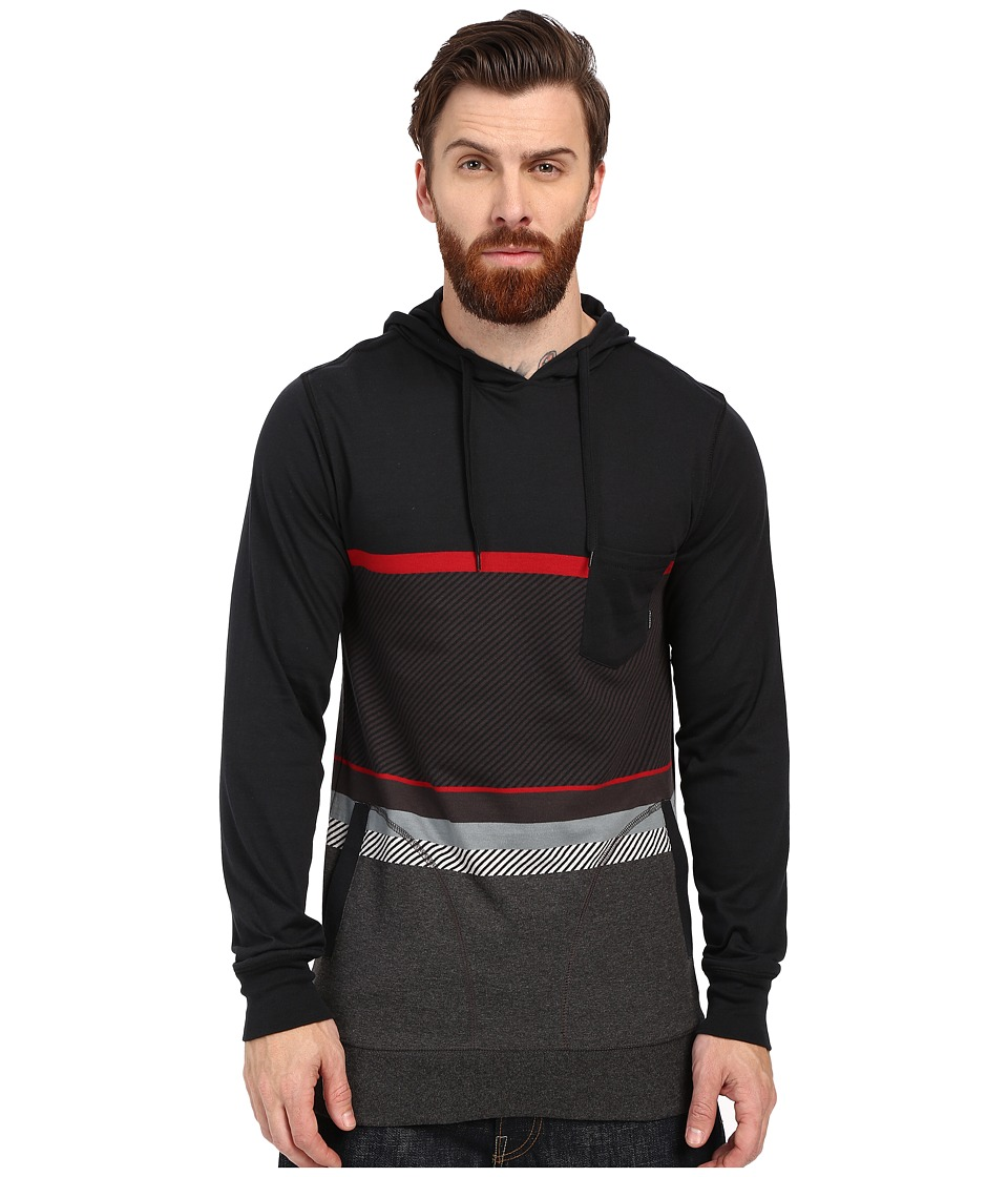 Billabong - Spinner Pullover Hoodie Long Sleeve (Stealth) Men's Sweatshirt