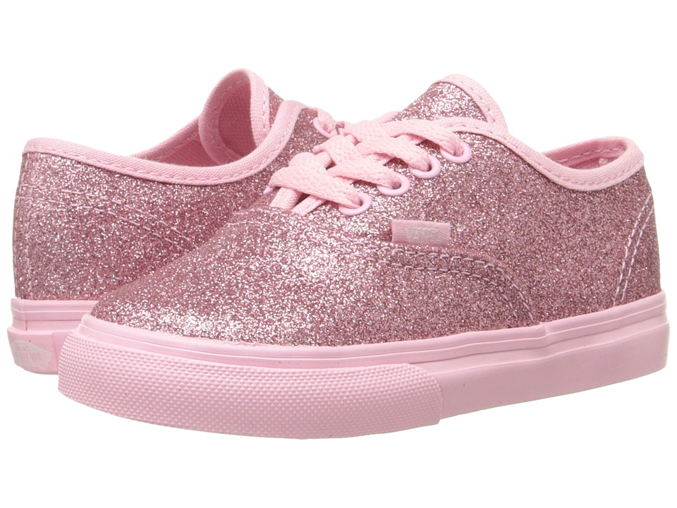Vans Kids - Authentic (Toddler) ((Shimmer) Bright Pink) Girls Shoes
