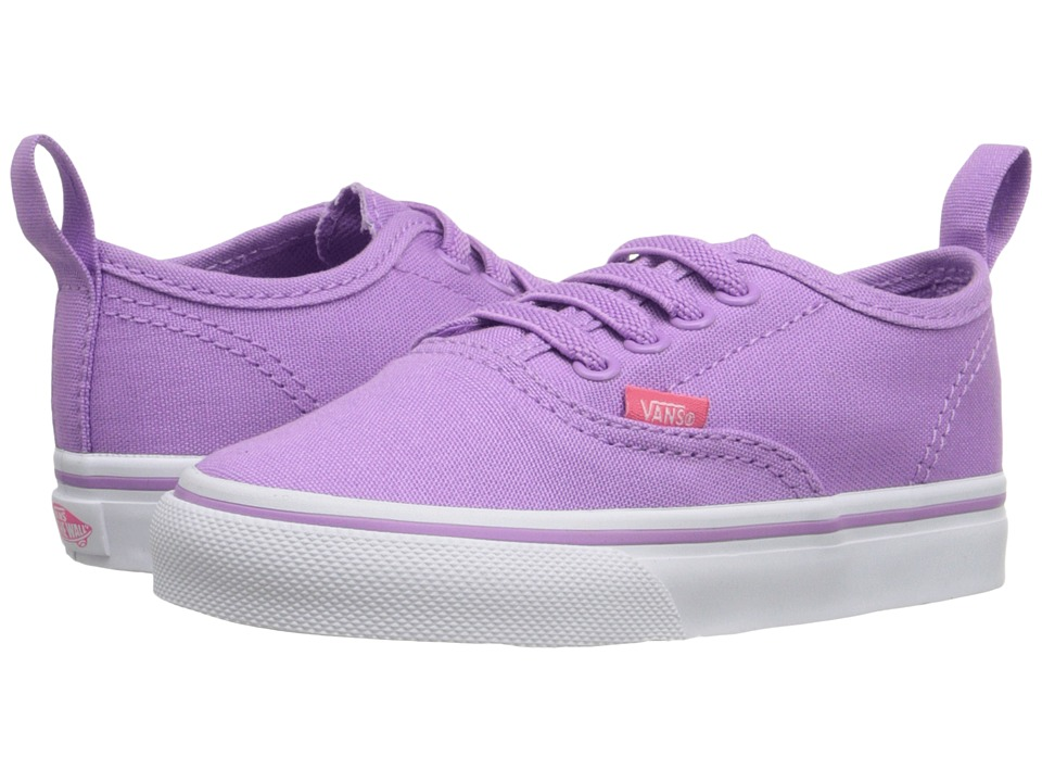 Vans Kids - Authentic V Lace (Toddler) ((Pop) African Violet/Camellia Rose) Girls Shoes