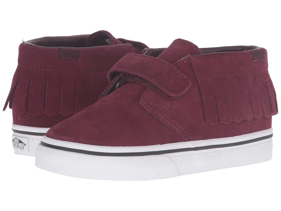 Vans Kids - Chukka V Moc (Toddler) ((Suede) Port Royale) Girls Shoes