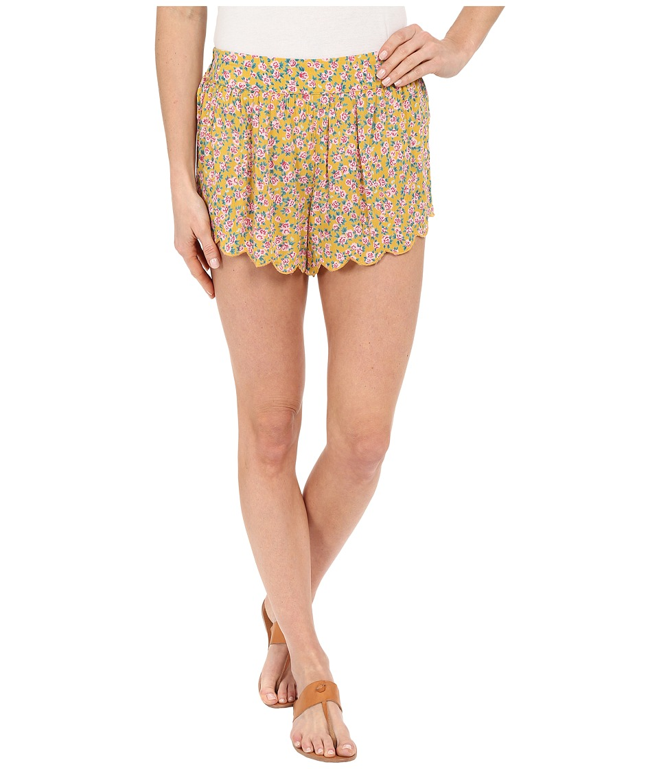 Billabong - Beyond Sunrise Shorts (Gold Dust) Women's Shorts