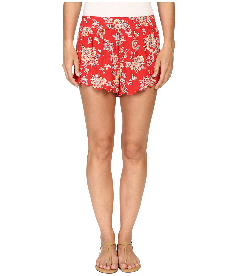 Billabong - Beyond Sunrise Shorts (Hibiscus) Women's Shorts