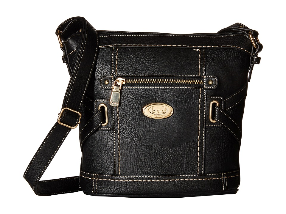 b.o.c. - Parkslope Crossbody (Black) Cross Body Handbags