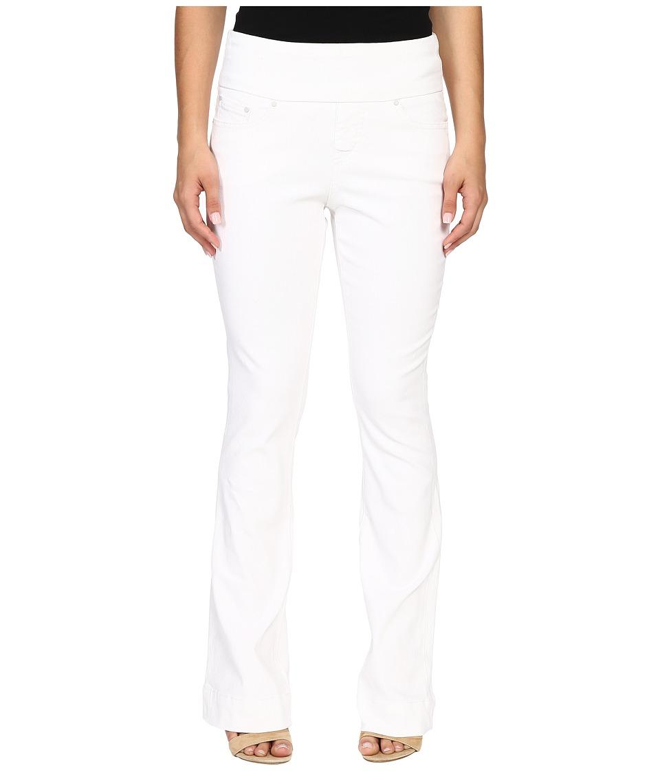 Jag Jeans Petite - Petite Ella Flare Jeans in White (White) Women's Jeans