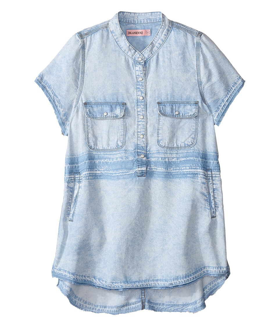 Blank NYC Kids - Tunic Detailed Dress (Little Kids/Big Kids) (Up In The Air) Girl