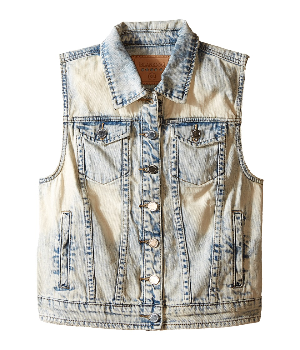 Blank NYC Kids - Denim Vest (Little Kids/Big Kids) (Ghost Chaser) Girl's Vest